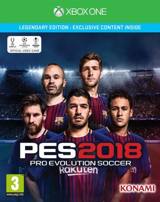 Pro Evolution Soccer 2018 Edycja Legendary XONE