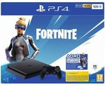 Sony PlayStation 4 Slim 500GB + Fortnite Royal Bomber Pack