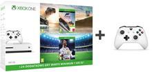 Microsoft Xbox One S 500 GB Biały + FIFA 18 + Forza Horizon 3 + 6M Live Gold + pad