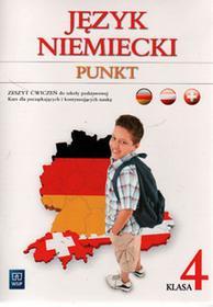 Punkt 4 Zeszyt ćwiczeń. Klasa 4 Szkoła podstawowa Język niemiecki - Anna Potapowicz