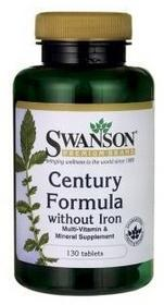 SWANSON Century Formula bez żelaza 130 tabl.