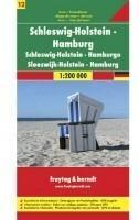 Freytag&Berndt NIemcy część 12 Szlezwik-Holsztyn Hamburg mapa 1:200 000 Freytag & Berndt
