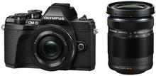 Olympus OM-D E-M10 Mark III + EZ-M1442EZ czarny + EZ-M4015 R