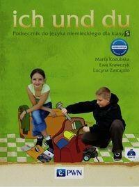 Wydawnictwo Szkolne PWN Ich und du 5 Podręcznik + CD - Marta Kozubska, Ewa Krawczyk, Lucyna Zastąpiło