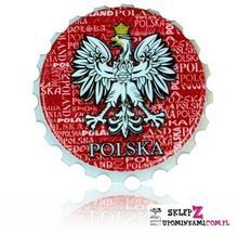 Pamiątka z Polski Magnes otwieracz Polska 0708
