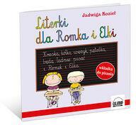 Olimp Media Literki dla Romka i Elki + marker - Jadwiga Kozieł