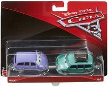Mattel Auta 3 Cars Minny i Van DXW06 DXV99 DXW06
