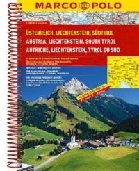 Marco Polo praca zbiorowa Austria. Atlas samochodowy 1:200 000