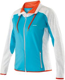 Head Mia Warm Up Jacket -turquoise/white 814205-TQWH