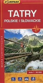 Wydawnictwo Compass  Tatry Polskie i Słowackie. Mapa turystyczna w skali 1:50 000