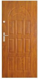 Drzwi zewnętrzne W3 80 prawe złoty dąb DT55/W3/ZD/80P