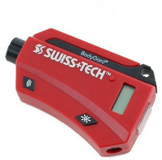 Swiss Tech Multitool kierowcy Bodygard XL7 Czerwony
