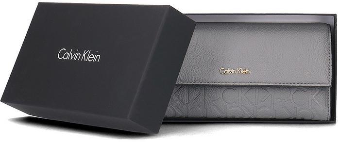 6632d3dd1177d Calvin Klein Misha Large Trifold - Portfel Damski - K60K602249 002  K60K602249 002 – ceny