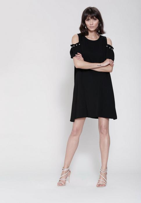 b19a0aaf2df0 Renee Czarna Sukienka Rejoice – ceny