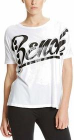 Bench koszulka Oversized Graphic Bright White WH001)