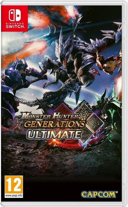 Monster Hunter Generations Ultimate NSWITCH