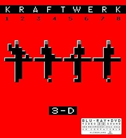 3-D The Catalogue English Version) DVD + Blu-ray) Kraftwerk