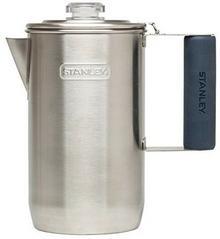 STANLEY Adventure Percolator dzbanek do kawy 1,0 litry stal nierdzewna do kawy ZUB Reiter, szary, medium 10-01876-002