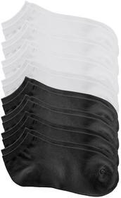 Bonprix Krótkie skarpetki (8 par) czarny + biały