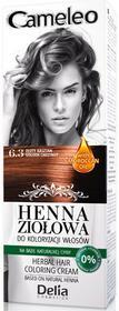 DELIA Cosmetics Cameleo Henna ziołowa do koloryzacji włosów palety kolorów Rozmiar: 7.4 Rudy