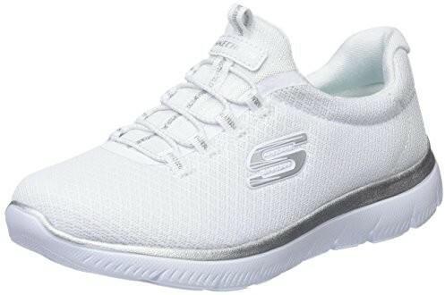 4dd8fc58580ee Skechers damskie ziemi Sneaker - biały - 35 EU B076X6MBJJ - Ceny i opinie  na Skapiec.pl