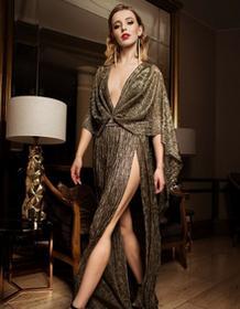 Fadd Suknia wieczorowa Naked Dress z regulowaną głębokością dekoltu