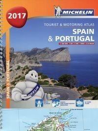 Atlas Hiszpania Portugalia 1:400 000 - Michelin