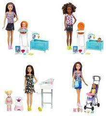 Barbie Skipper Zestaw Opiekunka z akcesoriami IV - ekspresowa wysyłka i bezpieczeństwo zakupów  21 dni na zwrot.