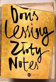 Wielka Litera Doris Lessing Złoty notes