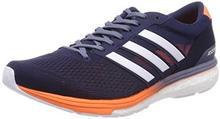Adidas Męskie buty do biegania adizero Boston 6 - niebieski - 42 2/3 EU B078WBQ48V