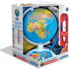 Clementoni Poznaj świat. Interaktywny Globus Eduglobus 60903
