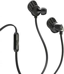 JLAB JLab JBuds Epic słuchawki douszne z kablem czarny / czarny EPIC-BLKBLK-BOX