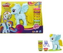 Hasbro Play-Doh Salon fryzjerski Rainbow Dash B0011 PUD3