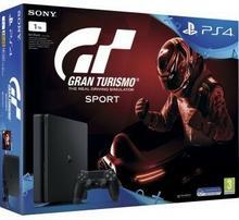 Sony PlayStation 4 slim 1TB Czarny + Gran Turismo Sport + DualShock 4