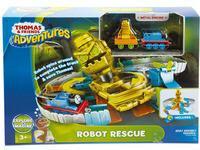 Fisher Price Tomek i Przyjaciele Adventures Zestaw Zakręcona Przygoda z Robotem FJP85