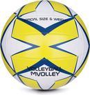 Spokey Piłka siatkowa Mvolley rozm 5 biało-żółta 920114
