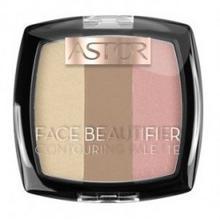 Astor Astor Face Beautifier Contouring Palette Paleta Do Konturowania Twarzy 001 Light