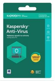 Kaspersky LAB Program Anti-Virus 2 PC 1 rok)
