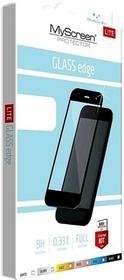 MYSCREEN LITE Glass Edge Szkło hartowane Huawei P10 czarne