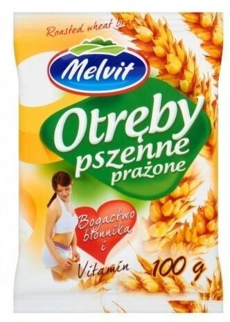 Melvit Otręby pszenne 100g -
