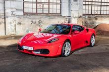 Ferrari F430 kontra Ferrari F458 Italia Białystok kierowca I okrążenie TAAK_FKFBL