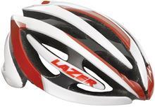 Lazer GENESIS kask rowerowy szosowy biało-czerwony