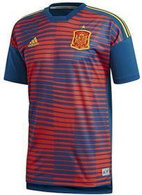 Adidas męski Hiszpanii dom Pre-Match Shirt, czerwony, XS CF1562