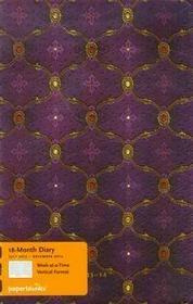 Paperblanks Kalendarz 18 miesięcy Maxi French Ornate Violet