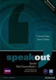 PEARSON Speakout Starter Flexi Course Book 1 + 2CD Eales Frances Oakes Steve