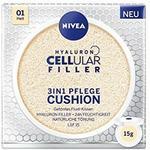 Nivea 3in1 Anti-AGE pielęgnacji poduszka do naturalne barwy i wilgoć, do jasnych rodzajów skóry,, 15 ML 84228-01000-07