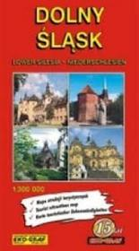 Dolny Śląsk. Mapa atrakcji turystycznych - EkoGraf