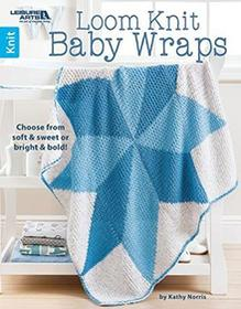 Leisure Arts Loom Knit Baby Wraps: choose from Soft & Sweet or Bright & Bold. 308570