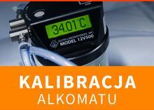 ALKOHIT Kalibracja Alkomatu ALKOHIT X600 + świadectwo kalibracji