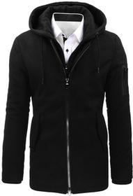 Dstreet Płaszcz męski zimowy czarny (cx0358) cx0358_m